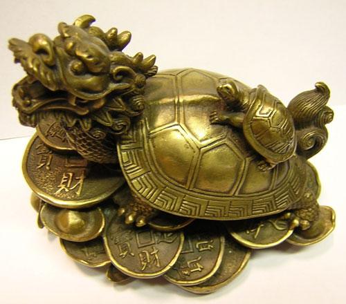 Черепаха по фен шуй
