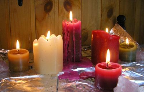 Как сделать свечу для ритуалов
