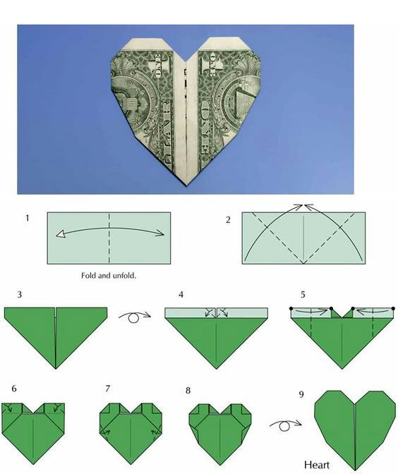 fold paper into a heart And since valentine's day is coming up, the heart-shaped note-fold is perfect step one: write a valentine's day message on regular notebook paper step two: fold the right corner of the paper down to make a triangle shape (photo 1.